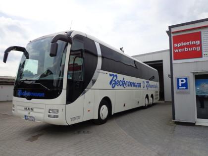 Busbeschriftunng Beckermann Bramsche
