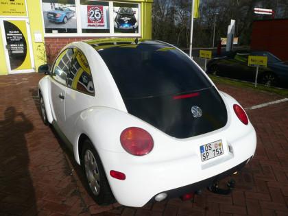 Beetle Folierung weiß Osnabrück Autofolie