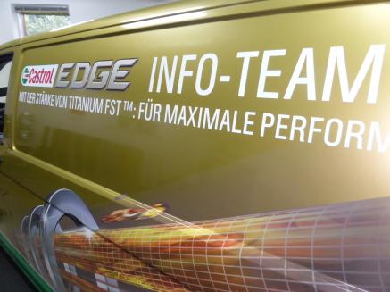 Spiering Werbung, Promotion, Pomotionfahrzeug Autofolierung, Autobeschriftung, Carwrapping, Osnabrück