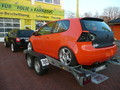 VW Golf V Rennwagen orange